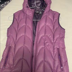 A cute purple vest
